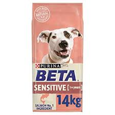 PURINA BETA Adult Sensitive Dry Dog Food with Salmon