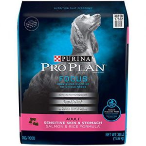 Purina Pro Plan Sensitive Skin and Stomach Formula Salmon and Rice