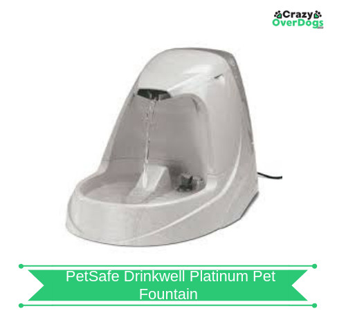 PetSafe Drinkwell Platinum Pet Fountain