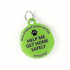 Dynotag Web-GPS Enabled QR Code Smart Pet Tag