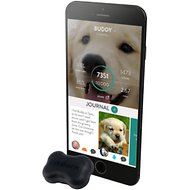 FitBark 2 Water Resistant Dog Activity & Sleep Monitor, Black