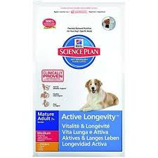 Hill's Dog Food Science Plan Senior Chicken Medium Breed Dry Mix