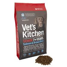 Vet's Kitchen Salmon and Brown Rice Senior Complete Dog Food
