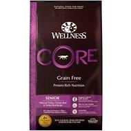 Wellness CORE Grain-Free Senior Deboned Turkey Recipe Dry Dog Food: