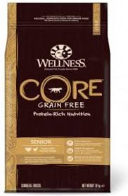 Wellness CORE Senior Dog Food Dry, Grain-Free. Turkey & Chicken