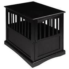 Casual Home Pet Crate End Table.