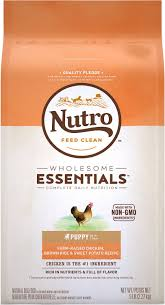 Nutro Wholesome Essentials Senior Farm-Raised Chicken, Brown Rice & Sweet Potato Recipe Dry Dog Food