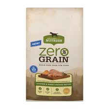 Rachael Ray Nutrish Zero Grain Natural Salmon & Sweet Potato Recipe Grain-Free Dry Dog Food