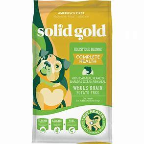 Solid Gold Holistique Blendz with Meal Sensitive Stomach Dry Dog Food: