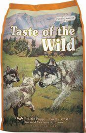 Taste of the Wild High Prairie Puppy Formula Grain-Free Dry Dog Food:
