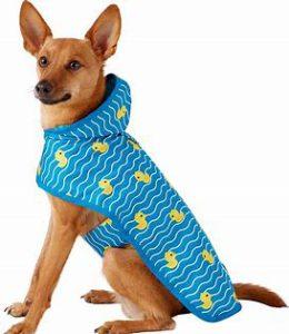 Frisco Rubber Ducky Dog Raincoat: