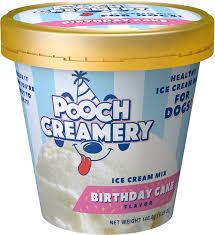 best dog gifts - Pooch Creamery Birthday Cake Flavor Ice Cream Mix Dog Treat