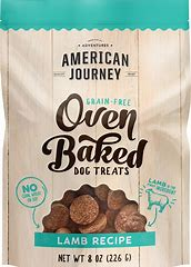 best dog treats - American Journey Grain-Free Oven Baked Crunchy Biscuit Dog Treats: