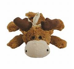 best new dog products - KONG Cozie Marvin the Moose Plush Dog Toy: