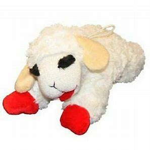 Best toys for dogs - Multipet Lamb Chop Squeaky Plush Dog Toy, Jumbo