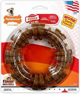 Chew Toys - Nylabone DuraChew Textured Ring Flavor Medley Dog Toy, X-Large: