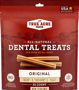 best dog treats - All-Natural Dental Chew Sticks